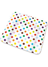 Bezug für Wickelauflage Dots, für 85 x 75 cm