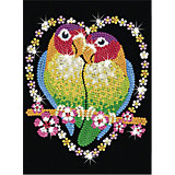 KSG Sequin Art Black Papagei