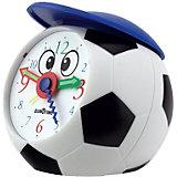 Fußball Quarzwecker mit Mütze