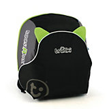 Автокресло-рюкзак черно-зеленое