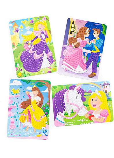 Sticky Mosaics Kreativset Funkelnde Bilder Prinzessin