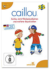DVD Caillou 22: Caillou lernt Rollschuhfahren
