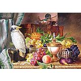 """Пазл """"Натюрморт с попугаем и фруктами"""", 3000 деталей, Castorland"""