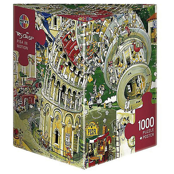 "Пазл ""Пизанская башня"", 1000 деталей, HEYE"