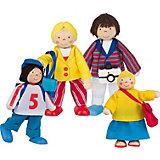"""Куклы """"Семья на отдыхе"""", 4 в 1, goki"""