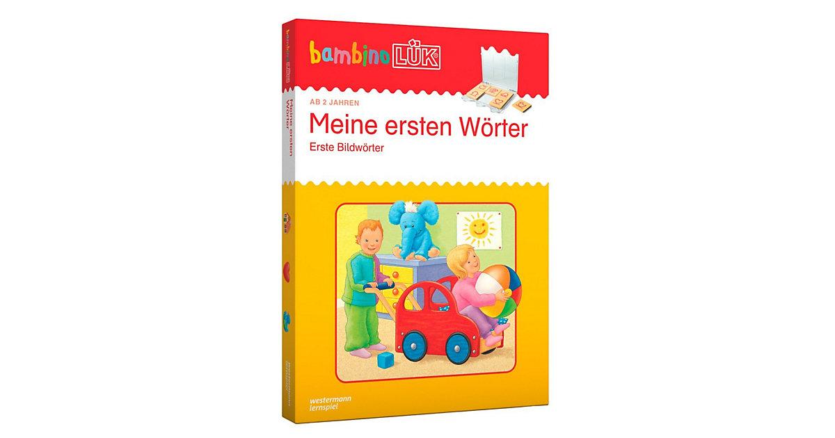 Buch - bambinoLÜK Set: Meine ersten Wörter