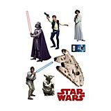 Wandsticker Star Wars, Set 1, 7-tlg.