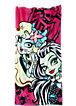 Strand- und Badetuch Monster High, 75 x 150 cm