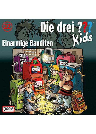 CD Die drei ??? Kids 22 - Einarmige Banditen
