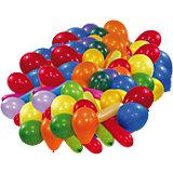 Luftballons, versch. Formen und Farben 100 Stück