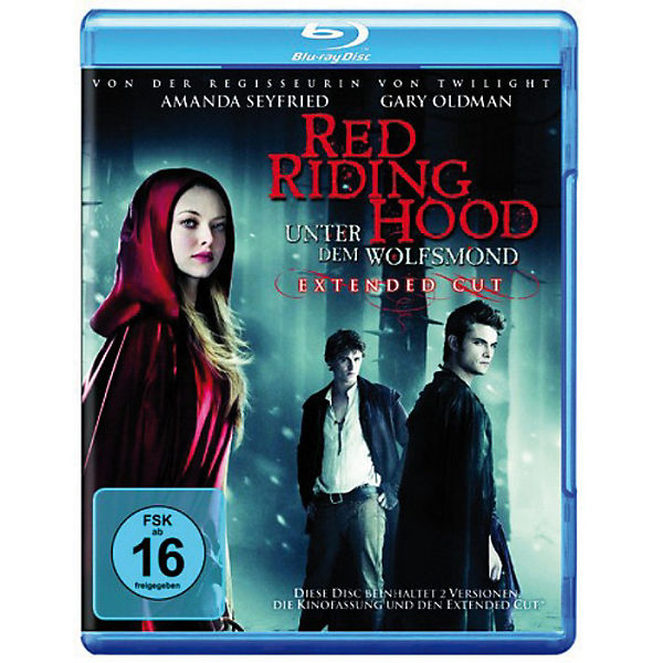 BLU-RAY Red Riding Hood (Alternate cut + Kinofassung)