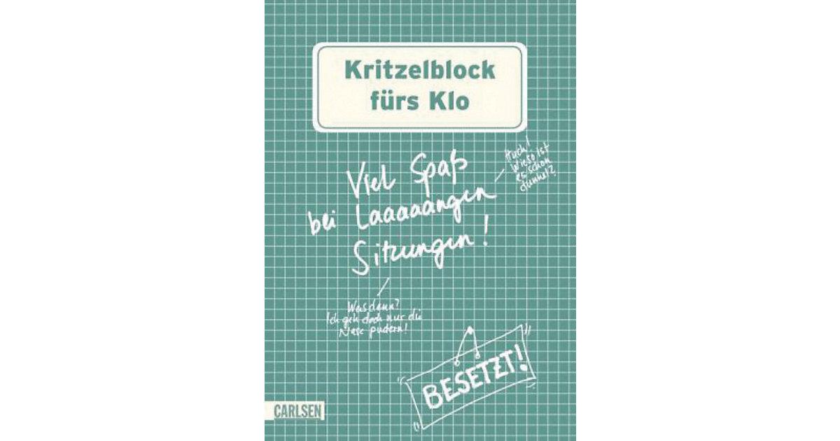 Buch - Kritzelblock fürs Klo Kinder