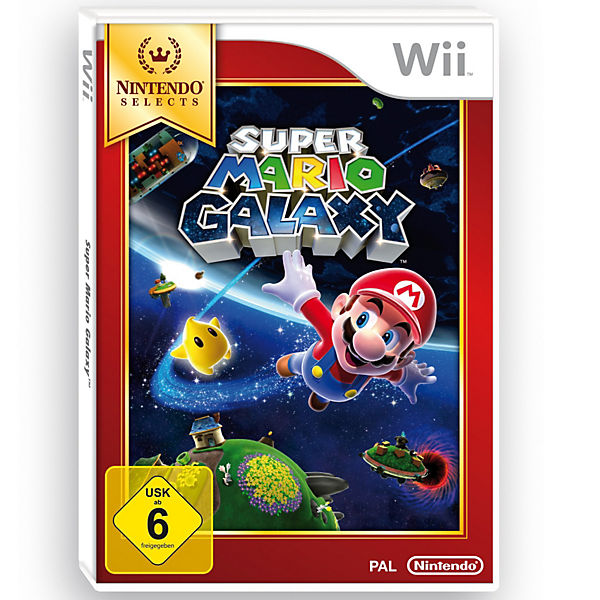 Wii Super Mario Galaxy - Nintendo Selects