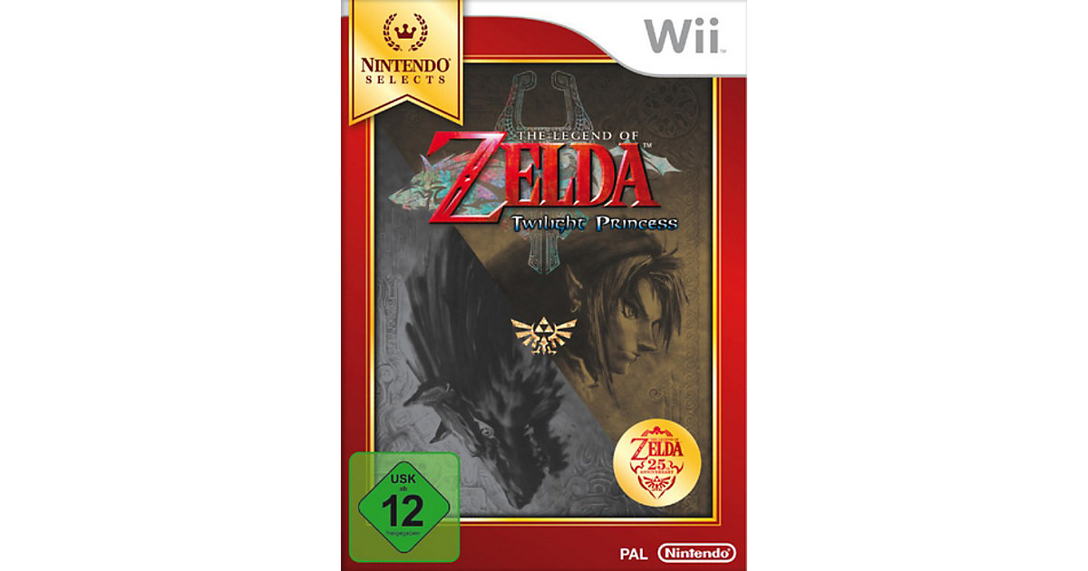 Wii The Legend of Zelda: Twilight Princess - Ni...