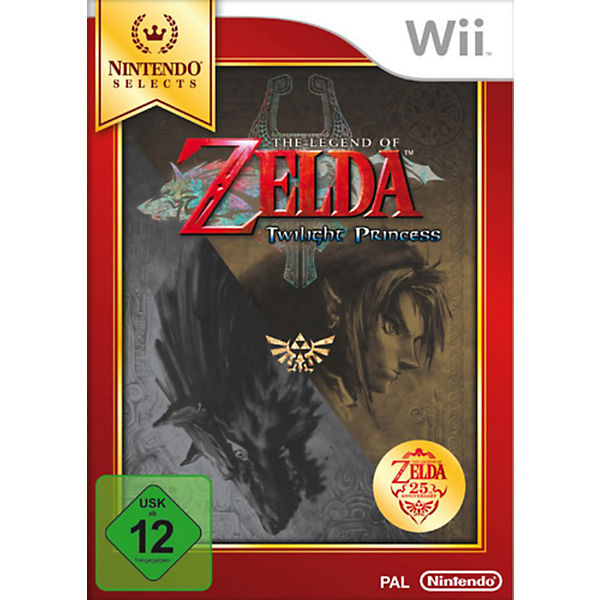 Wii The Legend of Zelda: Twilight Princess - Nintendo Selects