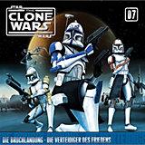 CD Star Wars - The Clone Wars 07 - Die Bruchlandung/Die Verteidiger des Friedens