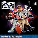 CD Star Wars - The Clone Wars 08 - Der Übergriff/unsichtbarer Feind
