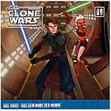 CD Star Wars - The Clone Wars 09 Das Virus/Geheimnis der Monde