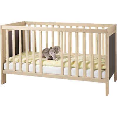 zubeh r umbauseitenteil mit rausfallschutz f r kinderbett lasse esche 2er set wellem bel. Black Bedroom Furniture Sets. Home Design Ideas