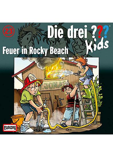 CD Die drei ??? Kids 23 - Feuer in Rocky Beach