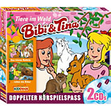 CD Bibi & Tina - Tiere im Wald (2er Box)
