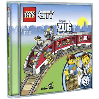 CD LEGO City 04 - Zug: Alarm im LEGO City Express