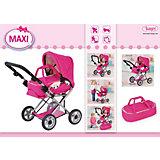 Maxi Puppenwagen Kombi Pink