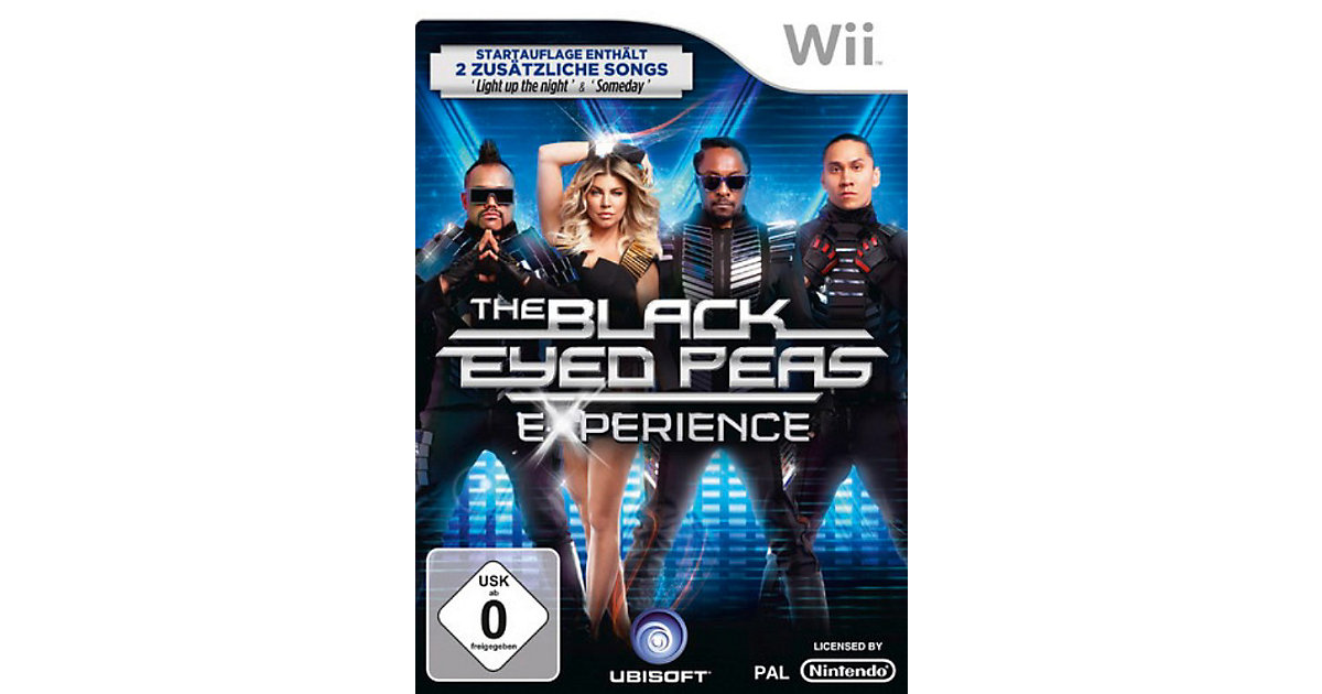 Wii The Black Eyed Peas Experience D1 Version