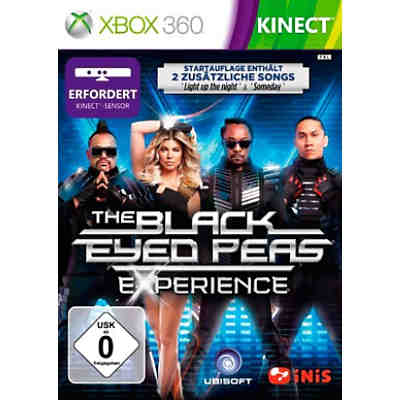 XBOX360 KINECT The Black Eyed Peas Experience D1 Version