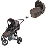 Jogger Speedi inkl. Kinderwagenaufsatz Dreami, Fast Brown, 2014
