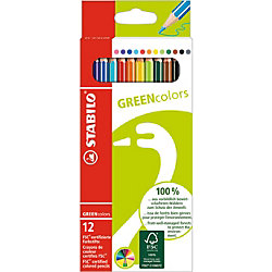 STABILO GREEN colors ����� ������� ����������, 12 ��.