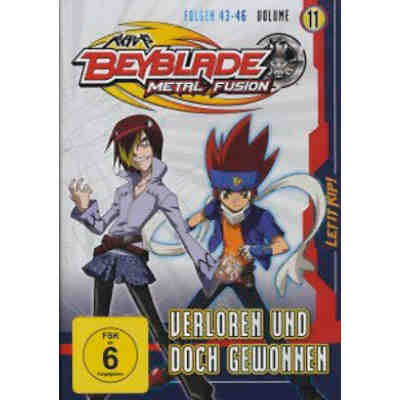 DVD Beyblade Metal Fusion - Vol. 11