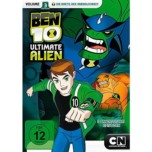 DVD Ben 10 Ultimate Alien - Season 1.3