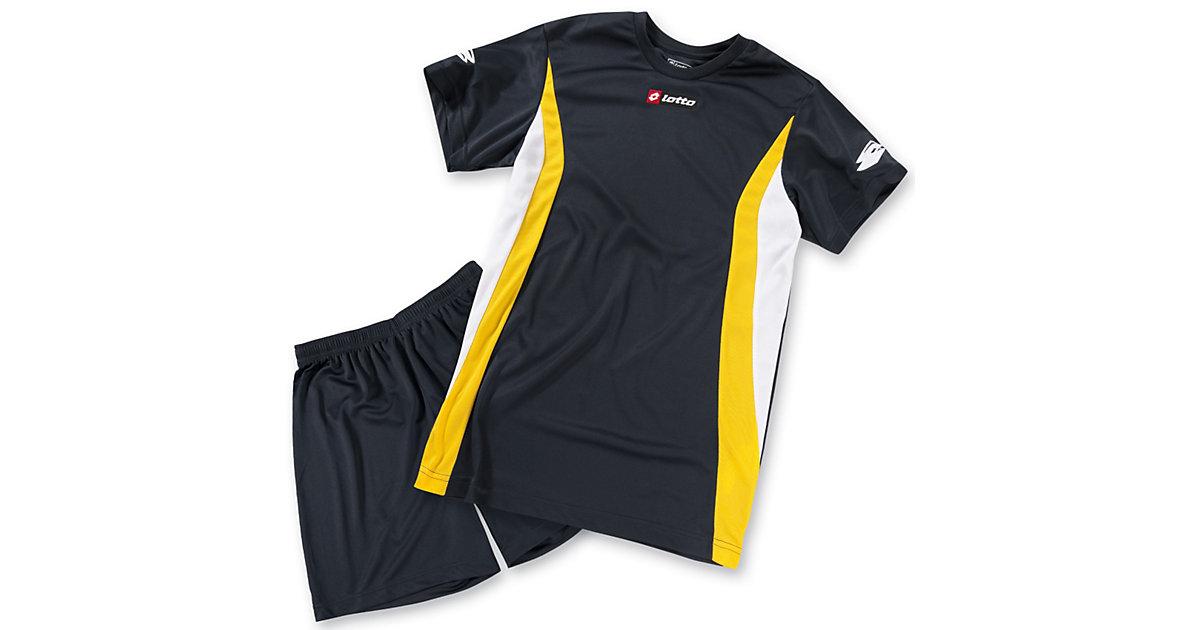 Fußball-Set: T-Shirt+Shorts navy Gr. 116/128 Jungen Kinder