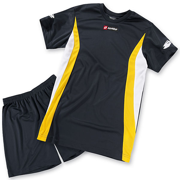 LOTTO Fußball-Set: T-Shirt+Shorts