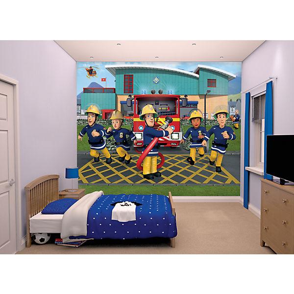 tapete feuerwehrmann sam 12 tlg feuerwehrmann sam mytoys. Black Bedroom Furniture Sets. Home Design Ideas