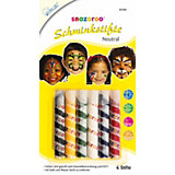 snazaroo Schminkstifte universal, 6 Farben
