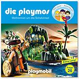 CD Die Playmos 26 - Wettrennen um die Schatzinsel