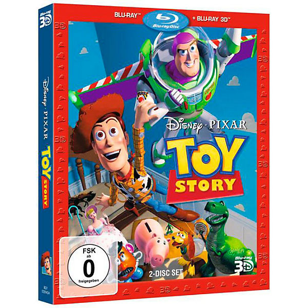 BLU-RAY Disney's - Toy Story (inkl. Blue Ray 3D Version)