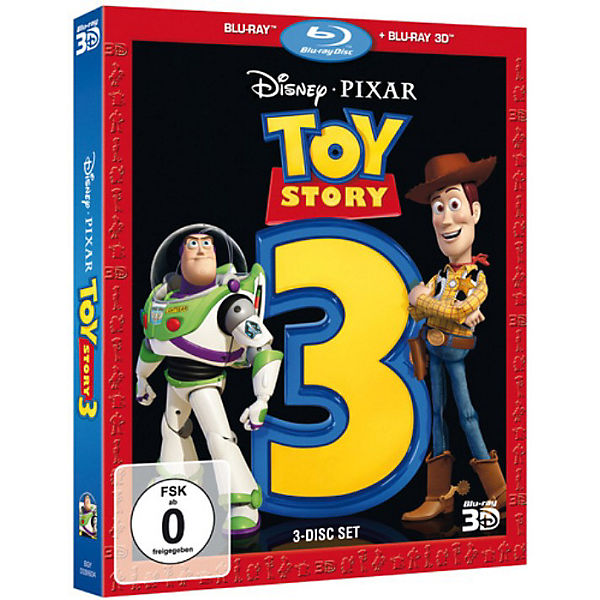 BLU-RAY Disney's - Toy Story 3 (+ Blu-ray 3D)