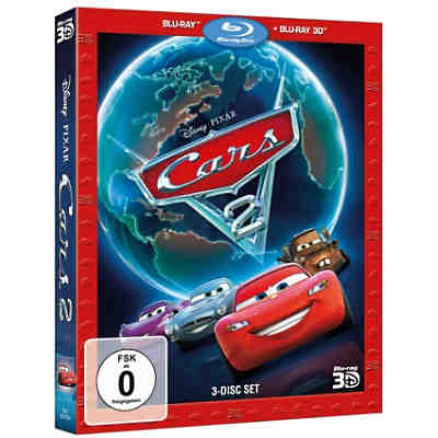 BLU-RAY Disney's - Cars 2 (+ Blu-ray 3D)