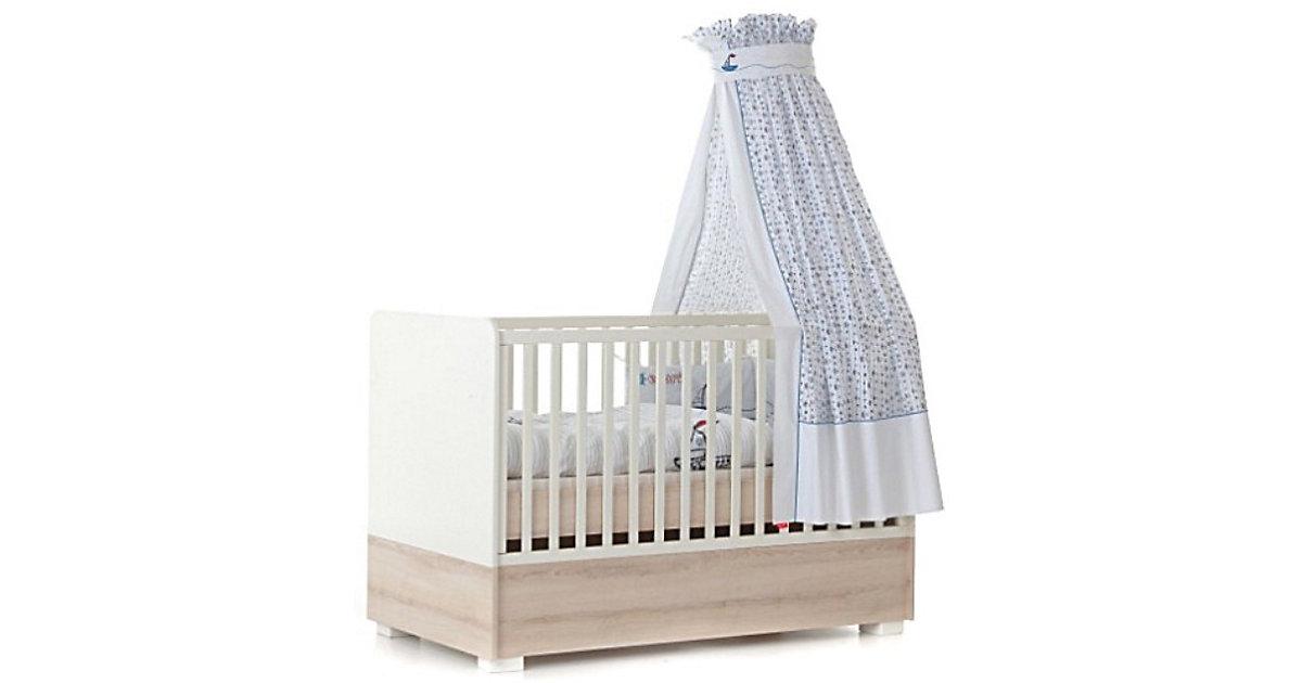 Kinderbett NATURAL HARMONY, Weiß/Südesche, 70 x 140 cm weiß