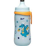 Trinkflasche Kids Cup mit Push Pull, PP, 330 ml, blau