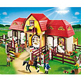 PLAYMOBIL 5221 Large horse ranch with Paddocks