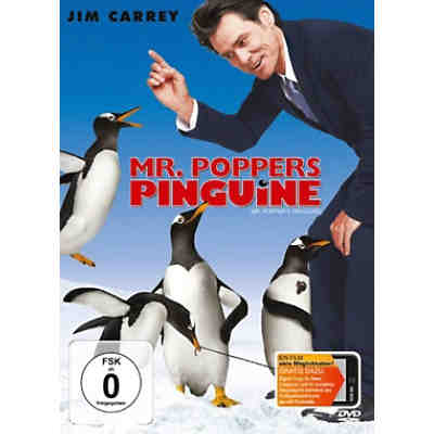 DVD Mr. Popper´s Pinguine