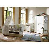 Komplett Kinderzimmer NATURAL HARMONY, 3-tlg. (Kinderbett, Wickelkommode und 2-türiger Kleiderschrank), Weiß/Südesche
