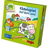 HABA 5580 Meine erste Spielwelt - Bauernhof Fädelspiel Auf dem Land