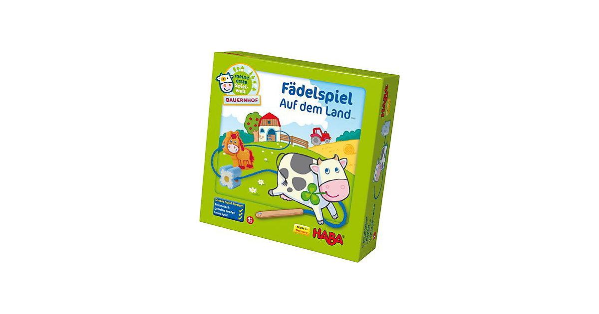 Meine erste Spielwelt - Bauernhof Fädelspiel Auf dem Land