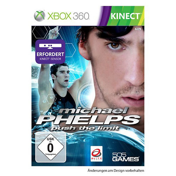 XBOX360 KINECT Michael Phelps - Push the Limit