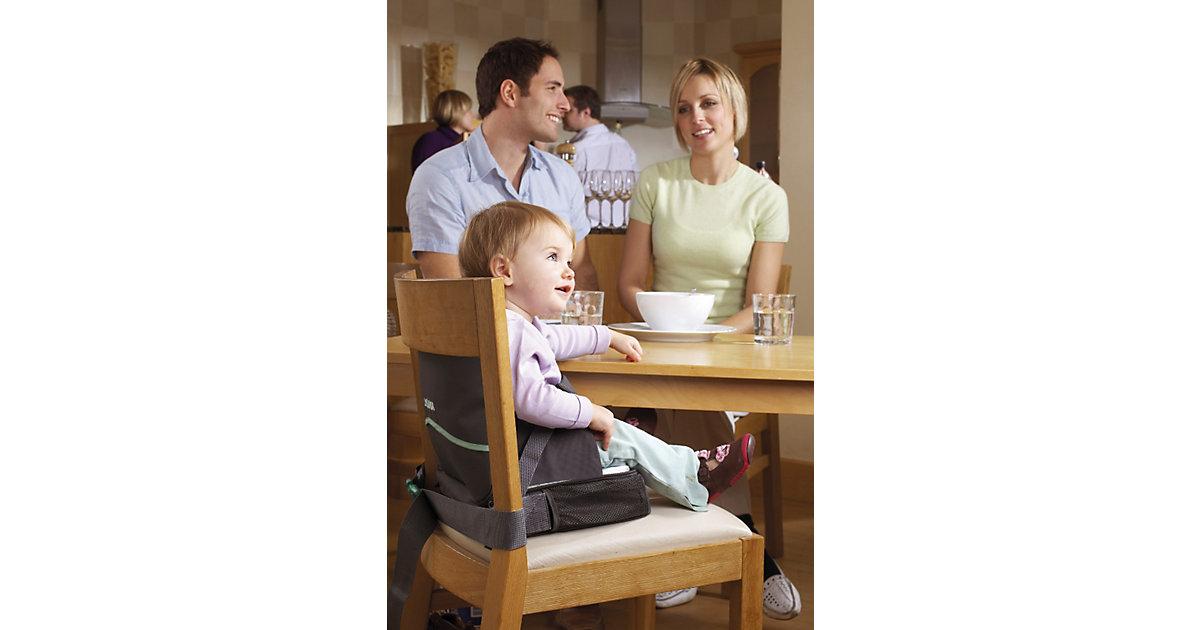 Babystuhlsitz unterwegs anthrazit-grau Kleinkinder